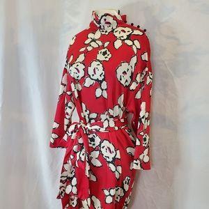 Zara Basic floral print soft dress